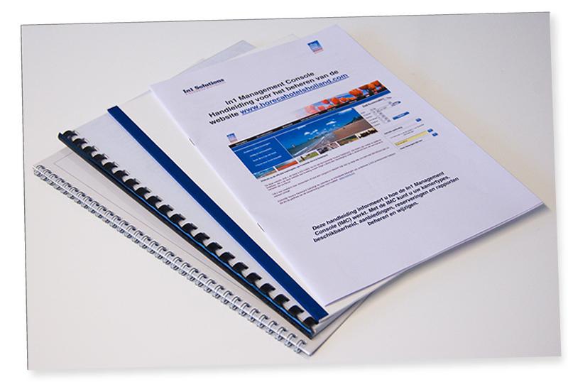 Brocheren boeken maken leto grafisch serviceburo woerden utrecht nederland leto uw studio - Kleine studio ontwikkeling ...
